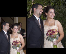Replace background for wedding couple