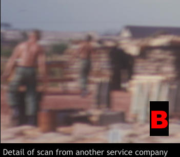 Detail of scan from another service company B